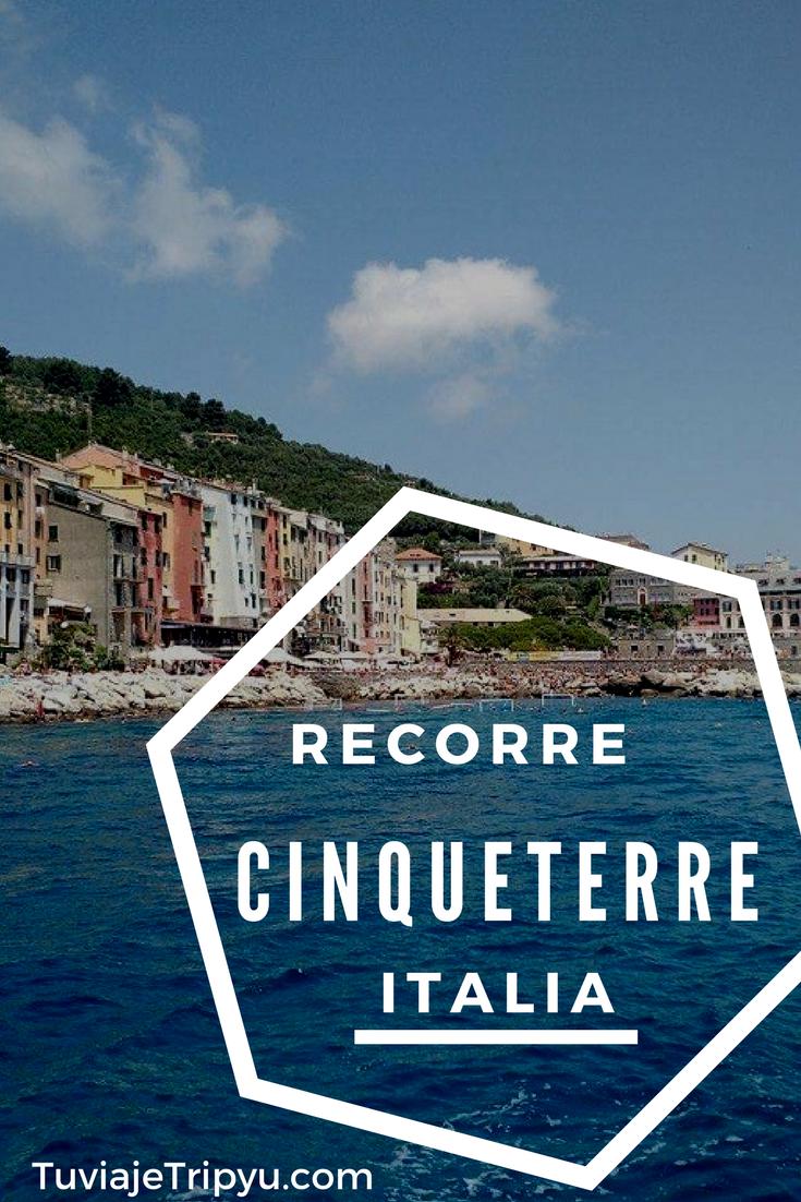 Como ir a #Cinqueterre 5 pueblos patrimonio histórico de la humanidad - #Unesco #Italia qué hacer en #verano