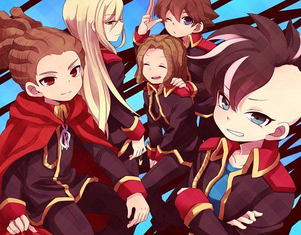 Blog de mangas en 2019 inazuma eleven go chicas anime chicos anime guapos et mangas - Dessin anime de inazuma eleven ...