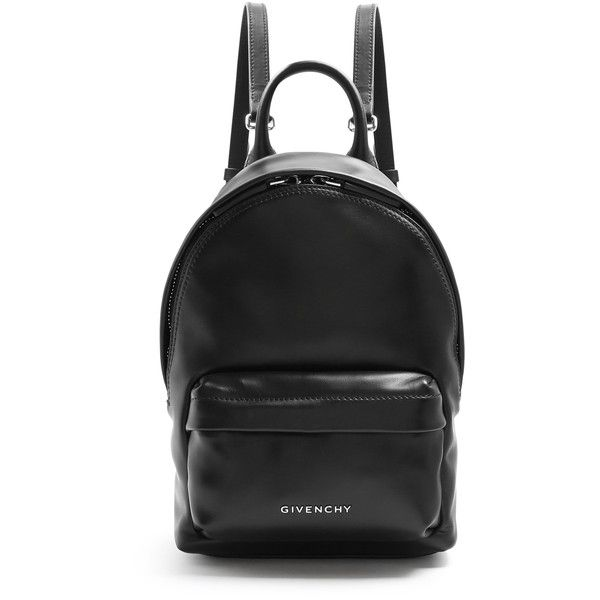 e10c47ac08 Givenchy Leather mini backpack (13.100.985 IDR) ❤ liked on Polyvore  featuring bags