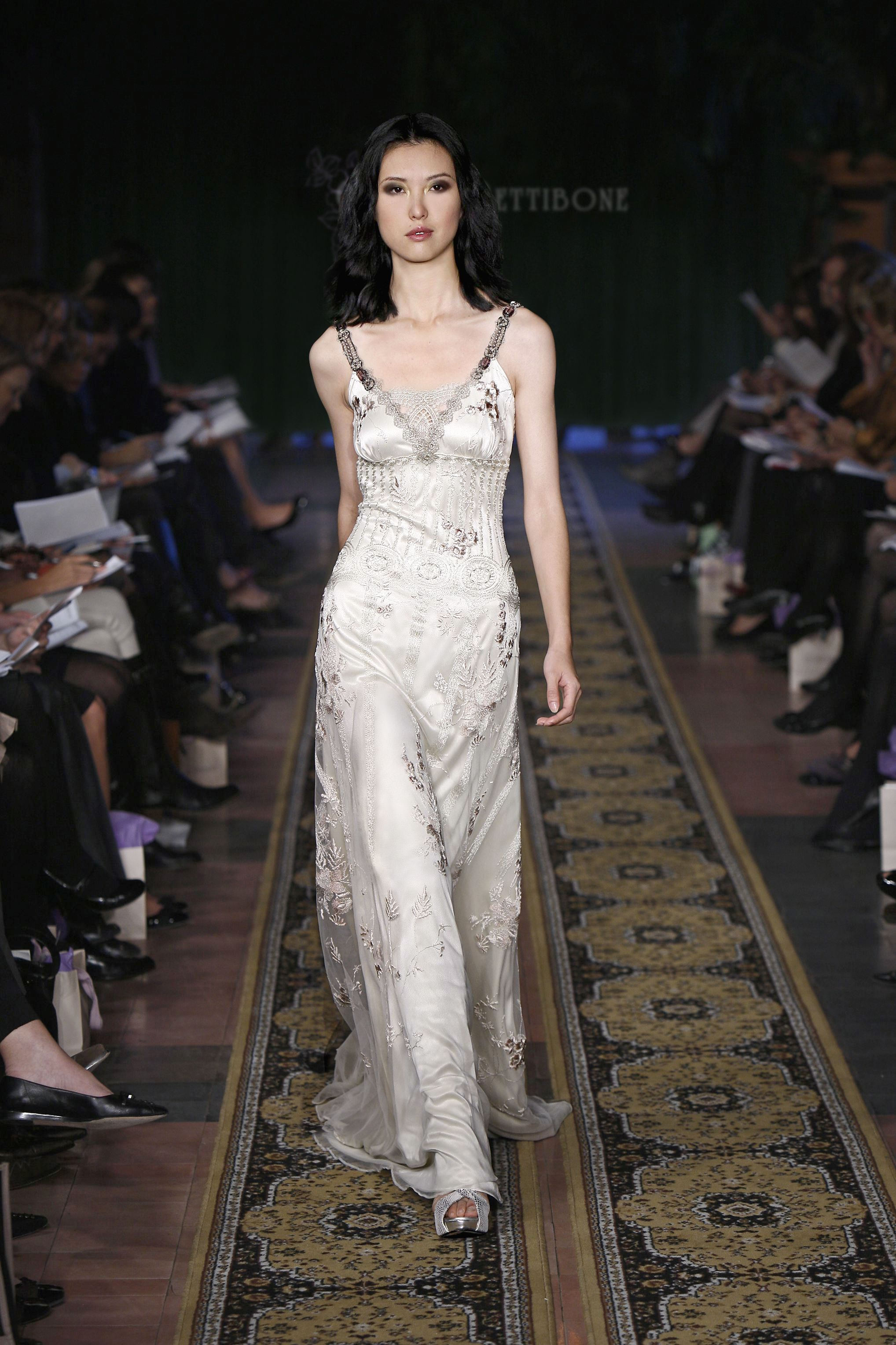 Claire Pettibone Midnight Wedding Gown Area Is Problematic And Makes It Look Like A Nightie Soo Glamorous Otherwise
