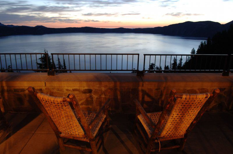 View Of Lake From Crater Lake Lodge  Oregon  Southern Oregon Cool Crater Lake Lodge Dining Room Menu Decorating Inspiration