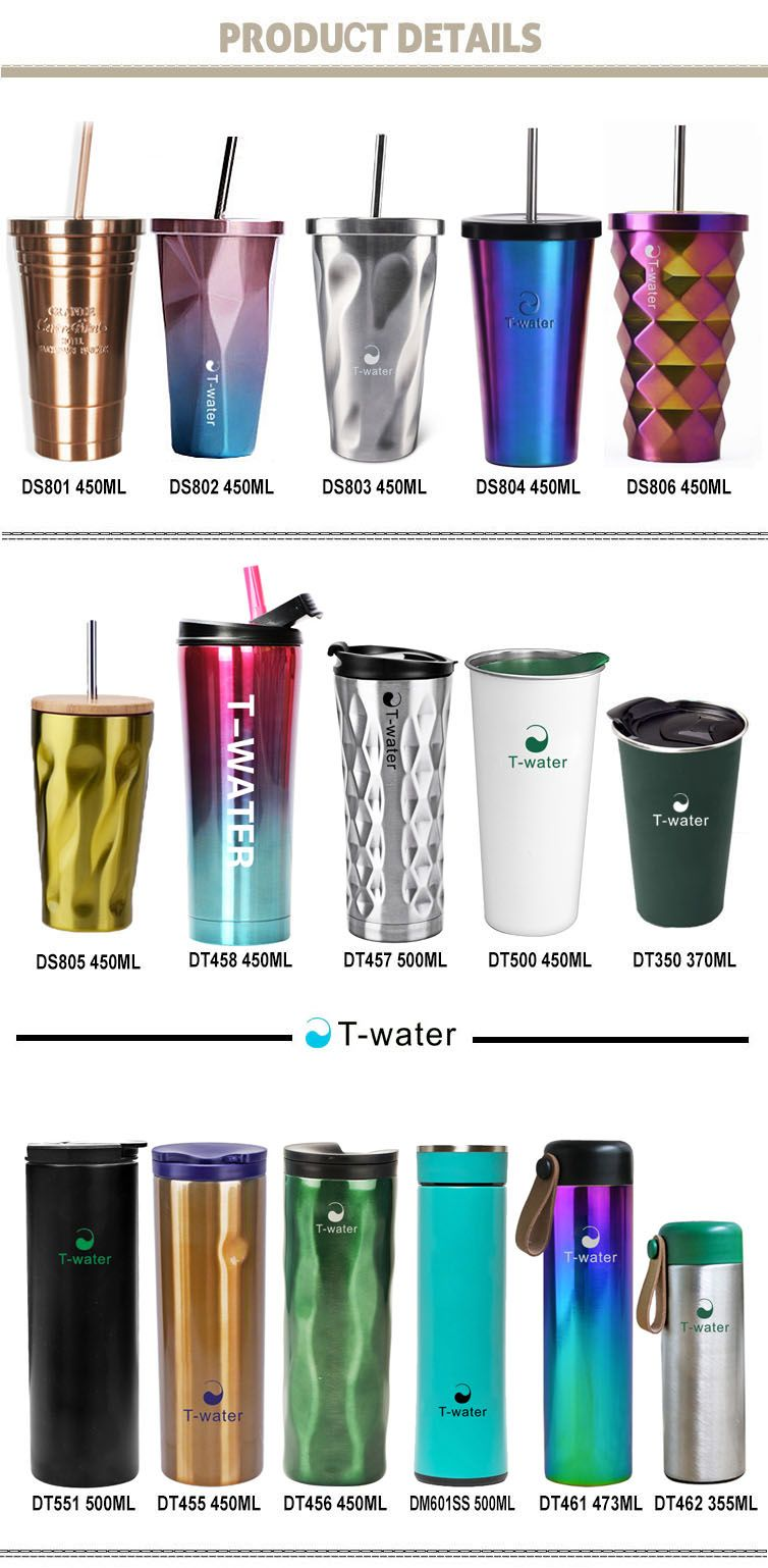 cea3302c607 Promotional customizable 16oz double wall stainless steel starbucks ...