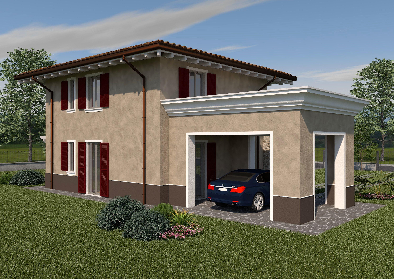 Colori Case Moderne Esterno.Colori Esterni Case Colore Facciata Villetta Case Moderne