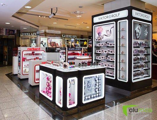 L oreal perfumes el corte ingl s sagasta vm pinterest store design store and showroom - El corte ingles stores ...