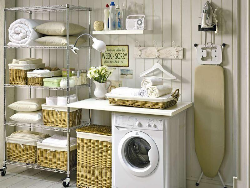 Cómo organizar un cuarto de lavado y plancha | Pinterest ...