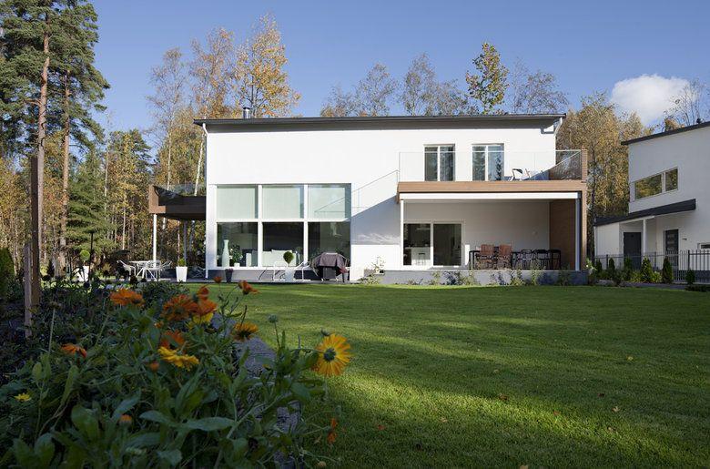 Moderni ja yksikertainen arkkitehtuuri Lammi-Kivitalossa, lisää ideoita www.lammi-kivitalot.fi