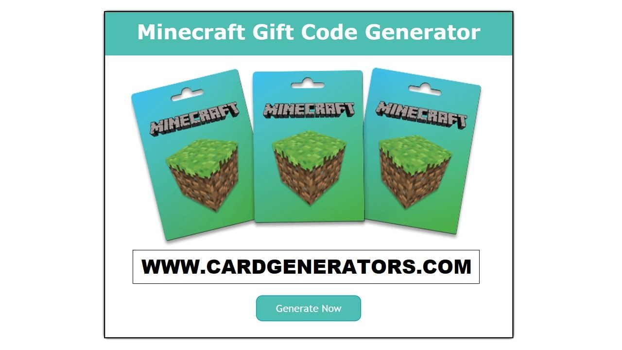 Minecraft Gift Code Generator generates a replicated code  You can