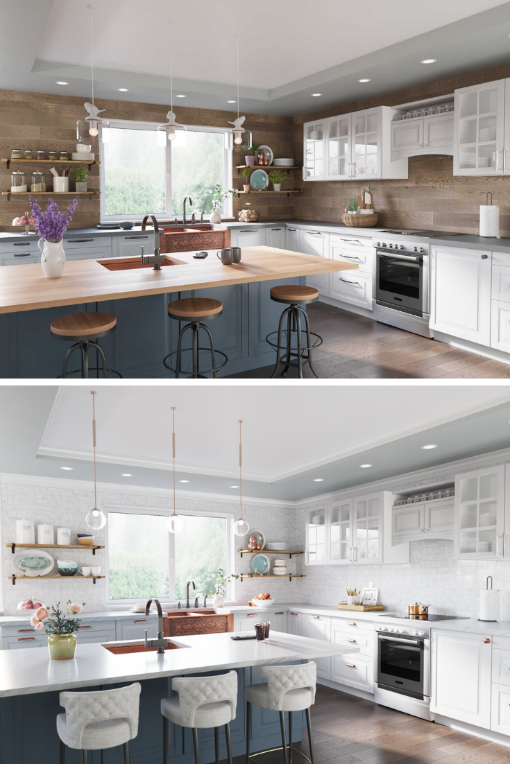 Which Kitchen Makes You Feel Inspired To Renovate! Warm