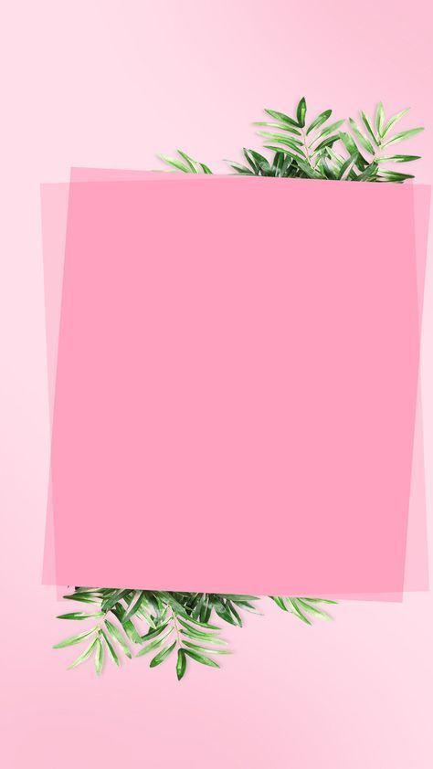Frame Blank Notebook Paper Background