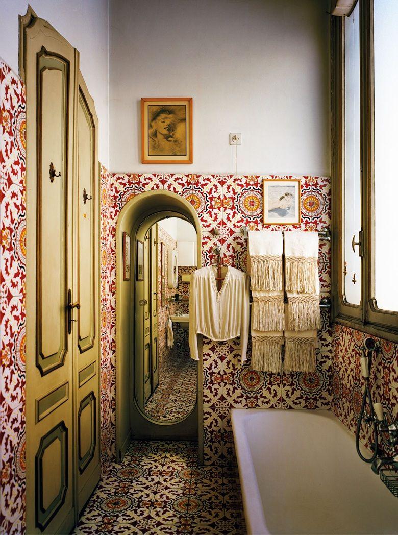 Mediterranean Bathroom Design Entrancing Carlomollinosbathroomdesigninturinitaly  Mediterranean Decorating Inspiration