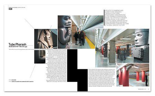 Tube Pharaoh - Canada subway. Modern Design Magazine november 2088 ...