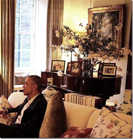 Peonies And Orange Blossoms Inside Prince William Kate S Kensington Palace Apartment