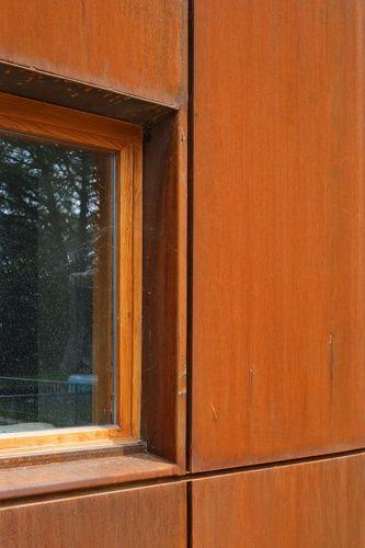Image Result For Corten Wall Window Detail Metal