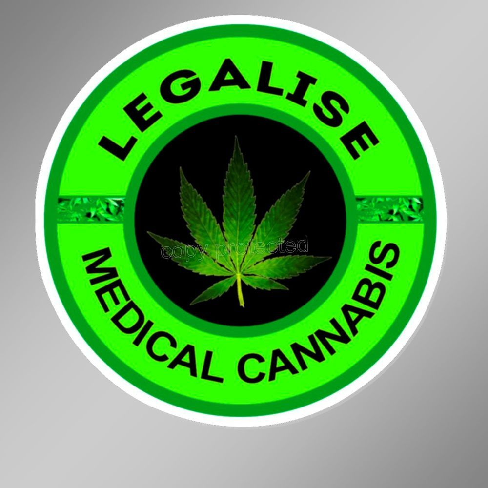 Legalise medical cannabis decal bumper sticker legal marijuana weed legalise medical cannabis decal bumper sticker legal marijuana weed 75 mm biocorpaavc Images