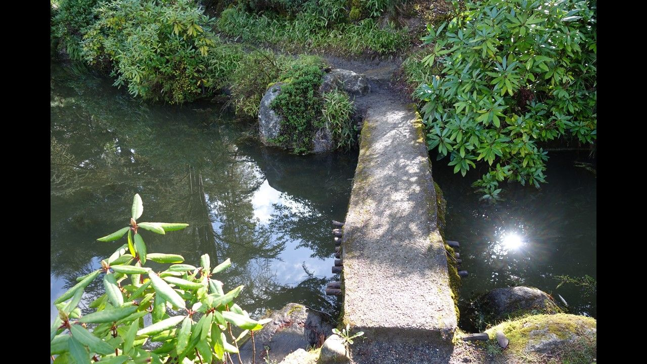 Kubota Garden is a stunning 20 acre landscape that blends