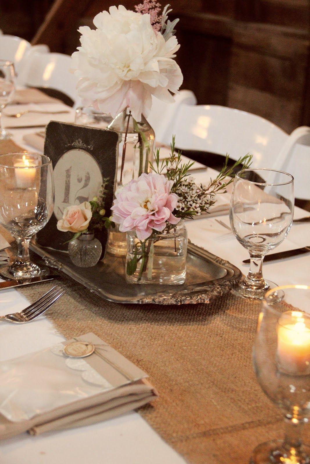 Whimsy Vintage Wedding Reception Vintage Wedding Centerpieces Vintage Centerpieces