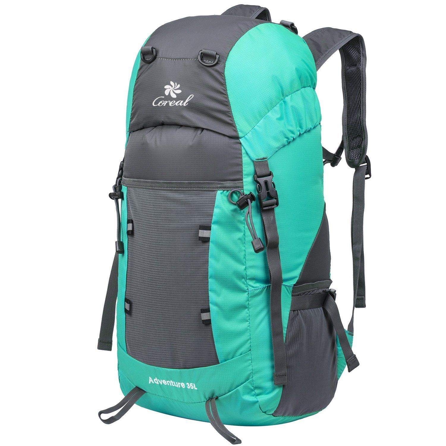4b43ff9bbece Coreal Hiking Foldable Backpack Packable Lightweight Daypack 35L Women and  Men    Awesome product. Click the image   Day backpacks