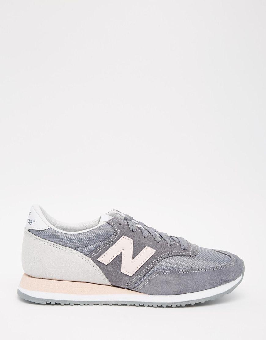 Imagen 2 de Zapatillas de deporte en gris y rosa 620 de New Balance