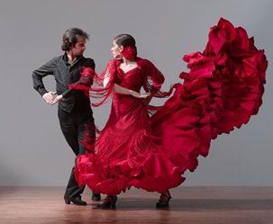 Flamenco - Bata de Cola  -- Beautiful!