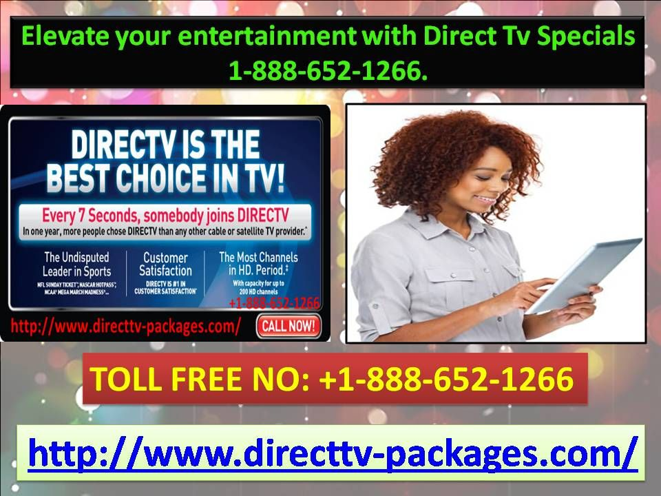 Elevate your entertainment with Direct Tv Specials 1888