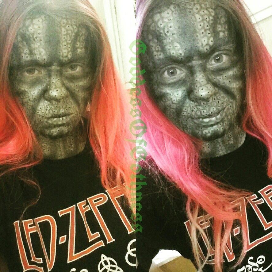 suicide squad killer croc makeup   halloweenie   pinterest