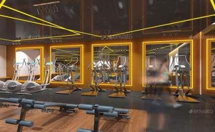 Fitness Interior Design Gym Inspiration 58+ Trendy Ideas #fitness