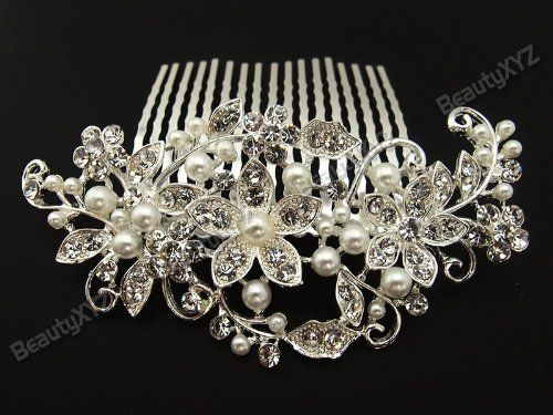 Flower Rhinestone Crystal Bridal Wedding Prom Hair comb Tiara #09 beautyxyz,http://www.amazon.com/dp/B00F0S705A/ref=cm_sw_r_pi_dp_2G4mtb0ZN36AQG1B