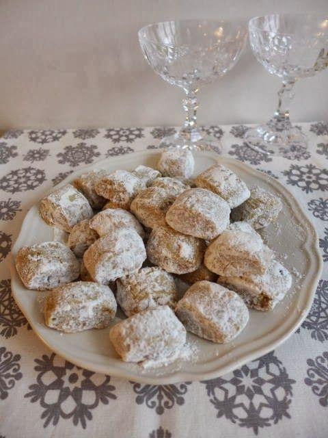 Petits Biscuits De Noel N 15 Vanille Kipferl De Christophe Felder
