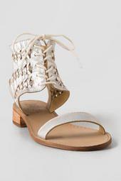 Latigo, Rose Leather Sandal