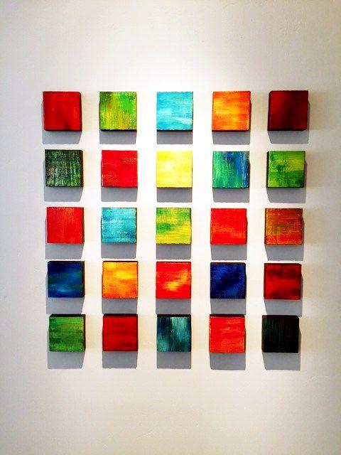 Modern Artwork Portfolio Wall Art Corporate Sculptures Art Grouping Modern Artwork Mini Canvas Art
