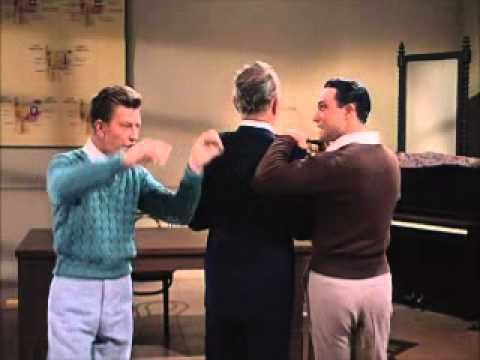 """Donald O'Connor and Gene Kelly preform """"Moses Supposes"""""""