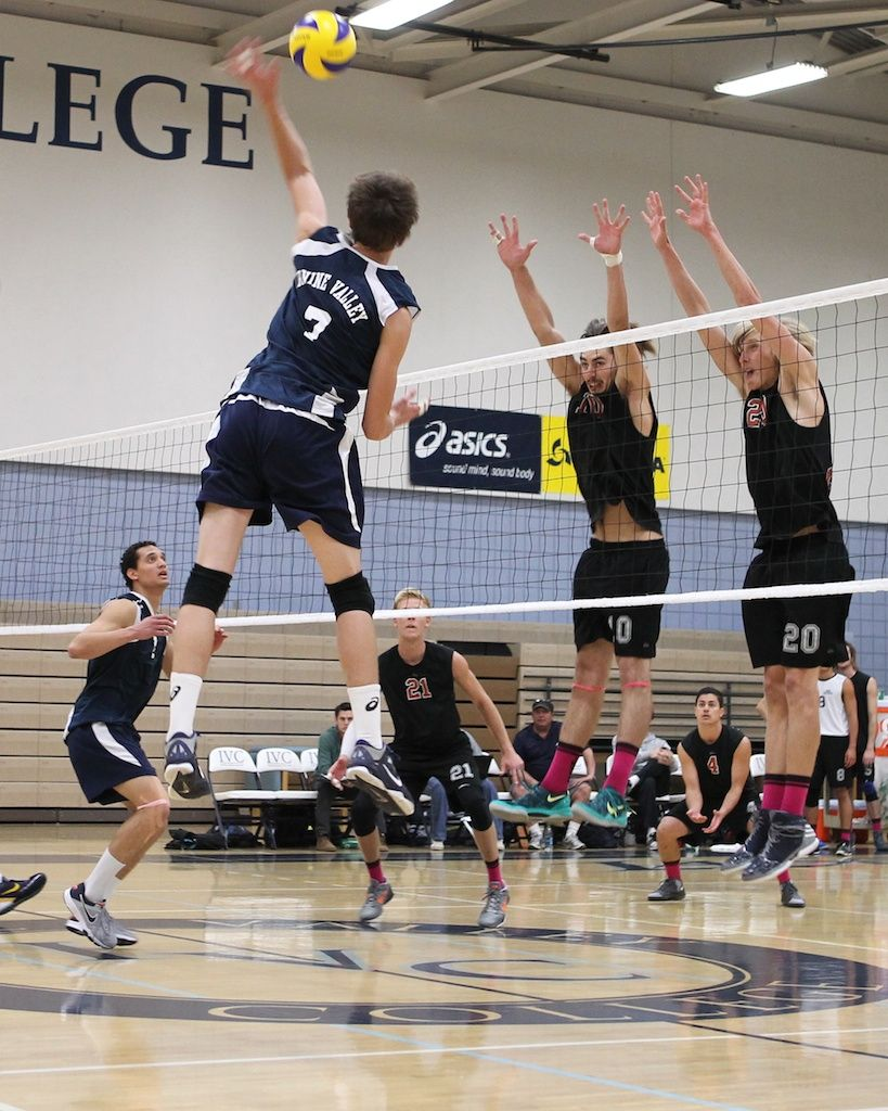 Irvine Valley College Hopes To Start A Digpink Trend In Men S Volleyball Http Www Side Out Org Blog Irvine Valley Volleyball Dig Mens Volleyball Dig Pink