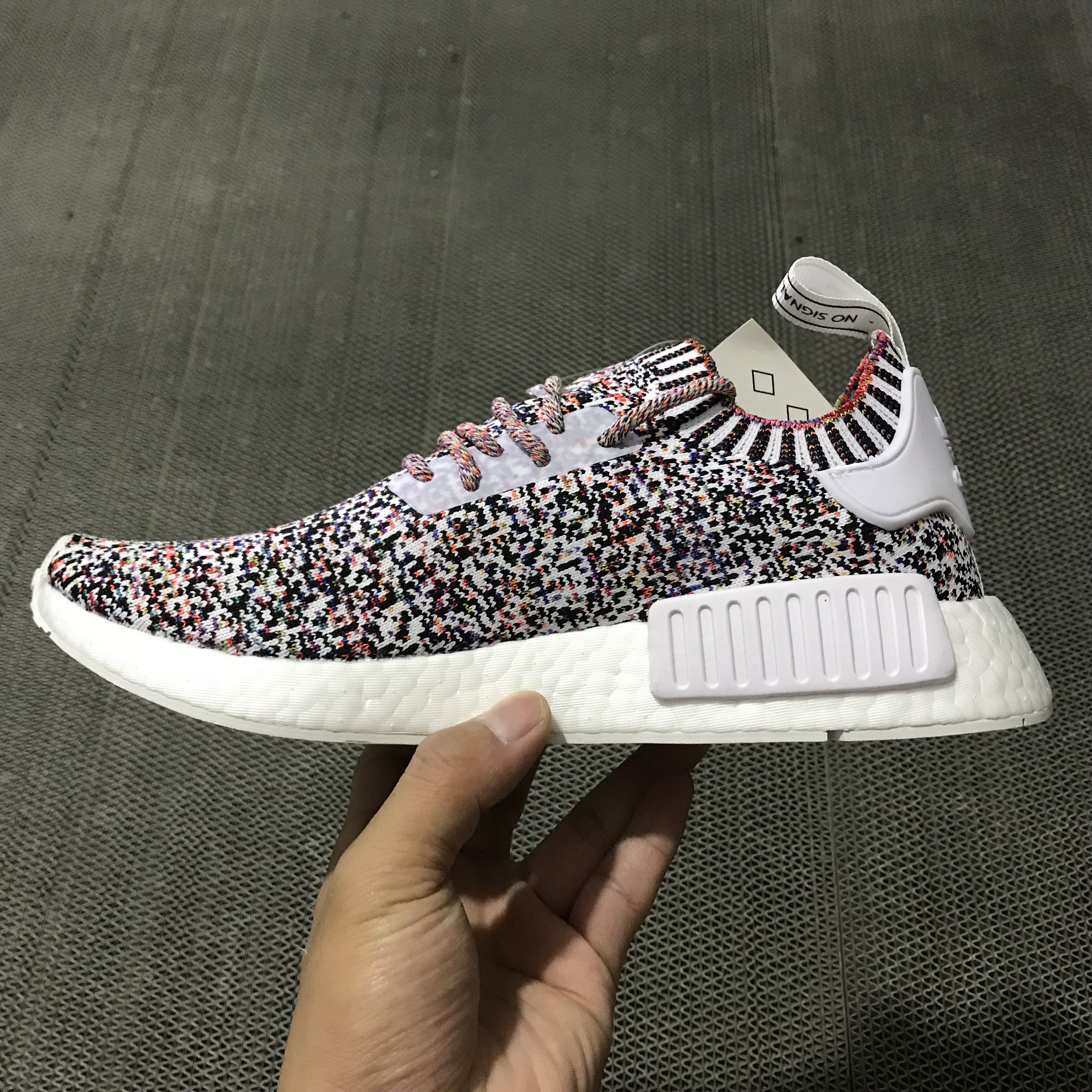 """44eed3231cad2 Brand New Addias NMD R1 PK """"Multicolor"""" BW1126 For Sale Online – New Yeezy  Boost"""