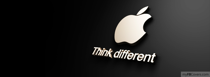 myFBCovers.com is your number one source for high quality Think different Facebook Covers to style your facebook timeline. We are the original creators of facebook covers and have the largest selection of Think different Facebook Profile Covers anywhere.