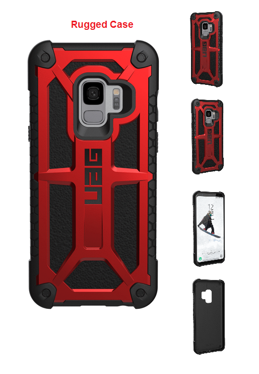 hot sales cf7f2 5ea79 Galaxy S9 For Urban Armor Gear UAG Monarch Case Red/Black | Urban ...