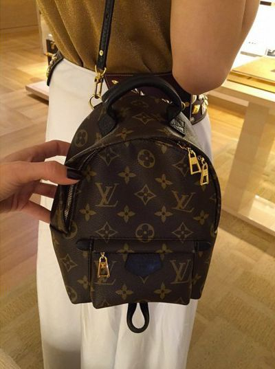 16f8be48d84e Louis Vuitton Monogram Palm Springs Backpack Mini Replica