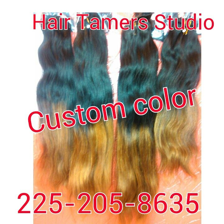 Let us color your weave at #Hair Tamers Studio #Baton ...