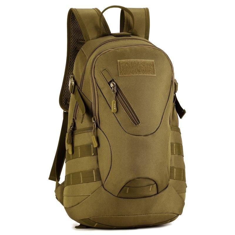 Huntvp Daypack Tactical Military Molle Backpack Waterproof Student School Rucksa