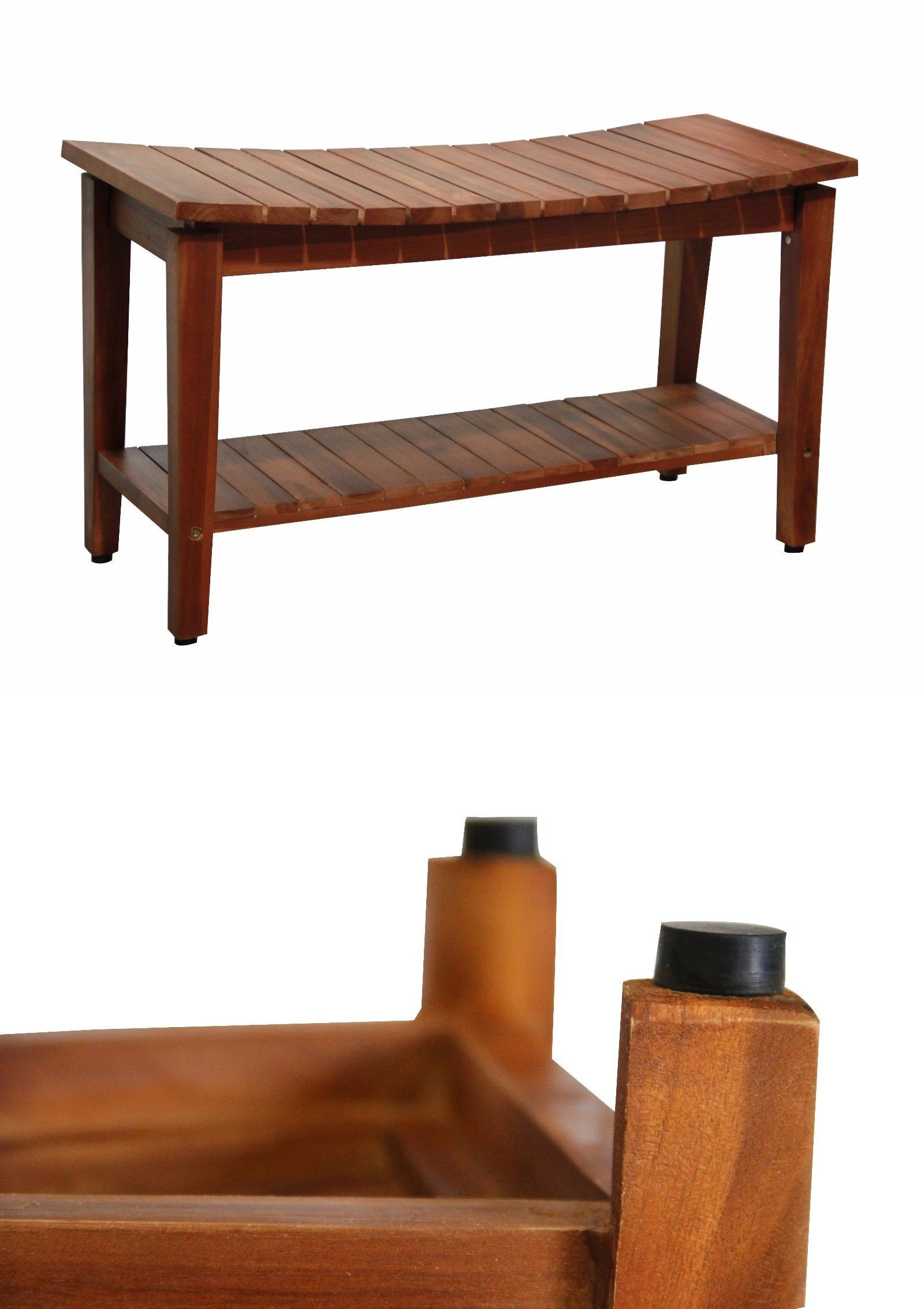 Shower and Bath Seats: Ala Teak Indoor Outdoor Patio Garden Yard ...