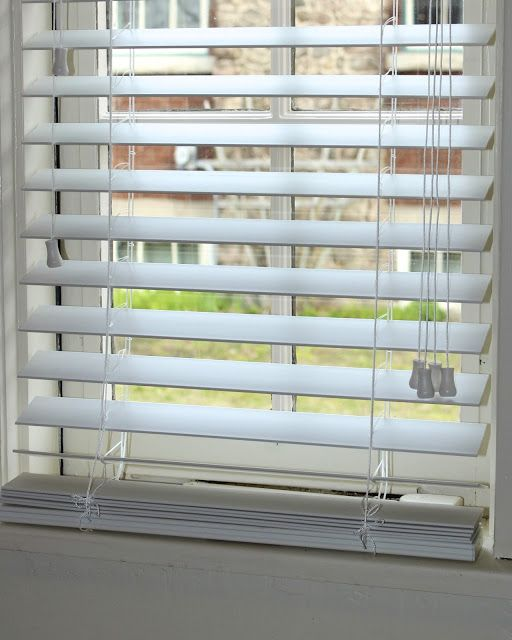 How To Shorten Faux Wood Blinds Wood Blinds Faux Wood Blinds