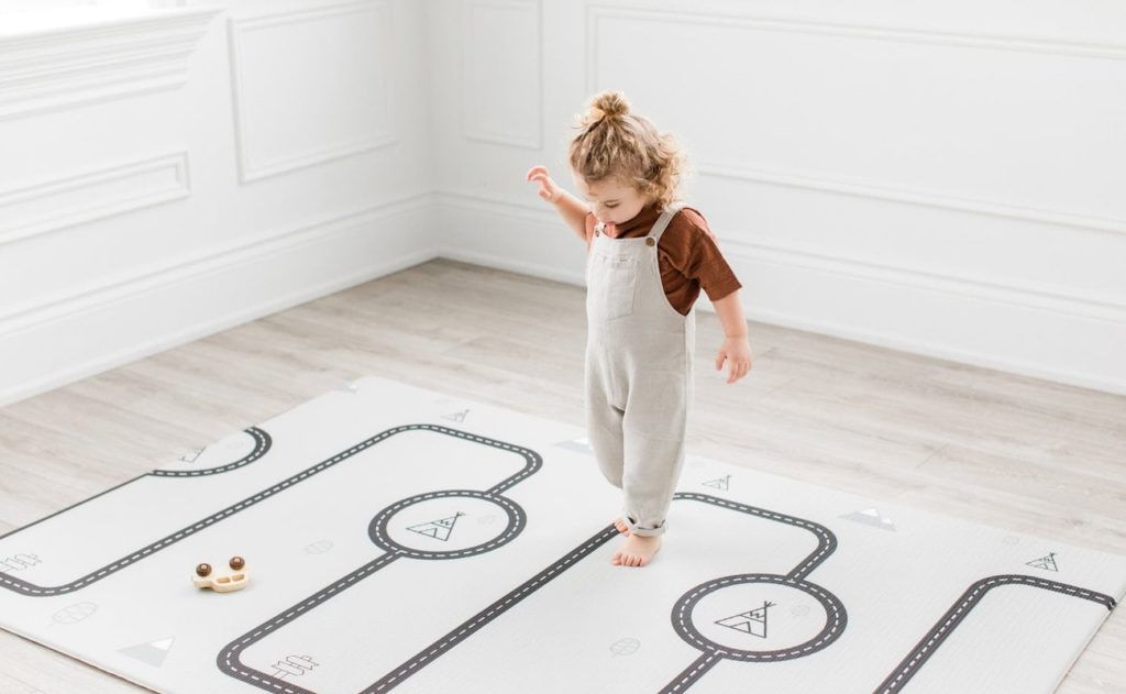 Little Bot Baby Ofie Stylish Soft Play Mat Is The Fun Rug You Ll Want On Display Soft Play Mats Soft Play Baby Play Mat