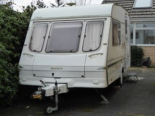 1997 Swift Classic Silhouette 2 Berth Caravan Full Awning ...