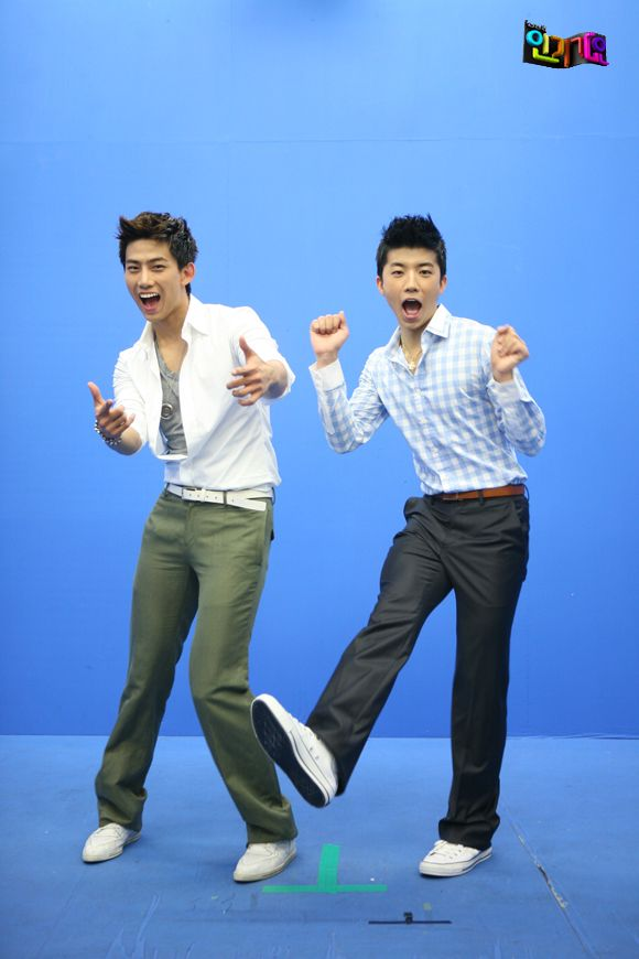 Taecyeon and Wooyoung