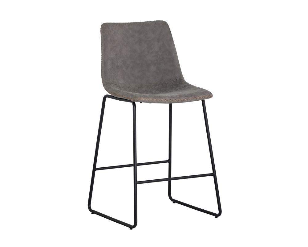 Cal counter stool antique grey in 2020 counter stools
