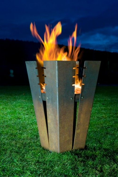 Keilbach Feuerstelle Fuji Pinterest Metals, Sheet metal and