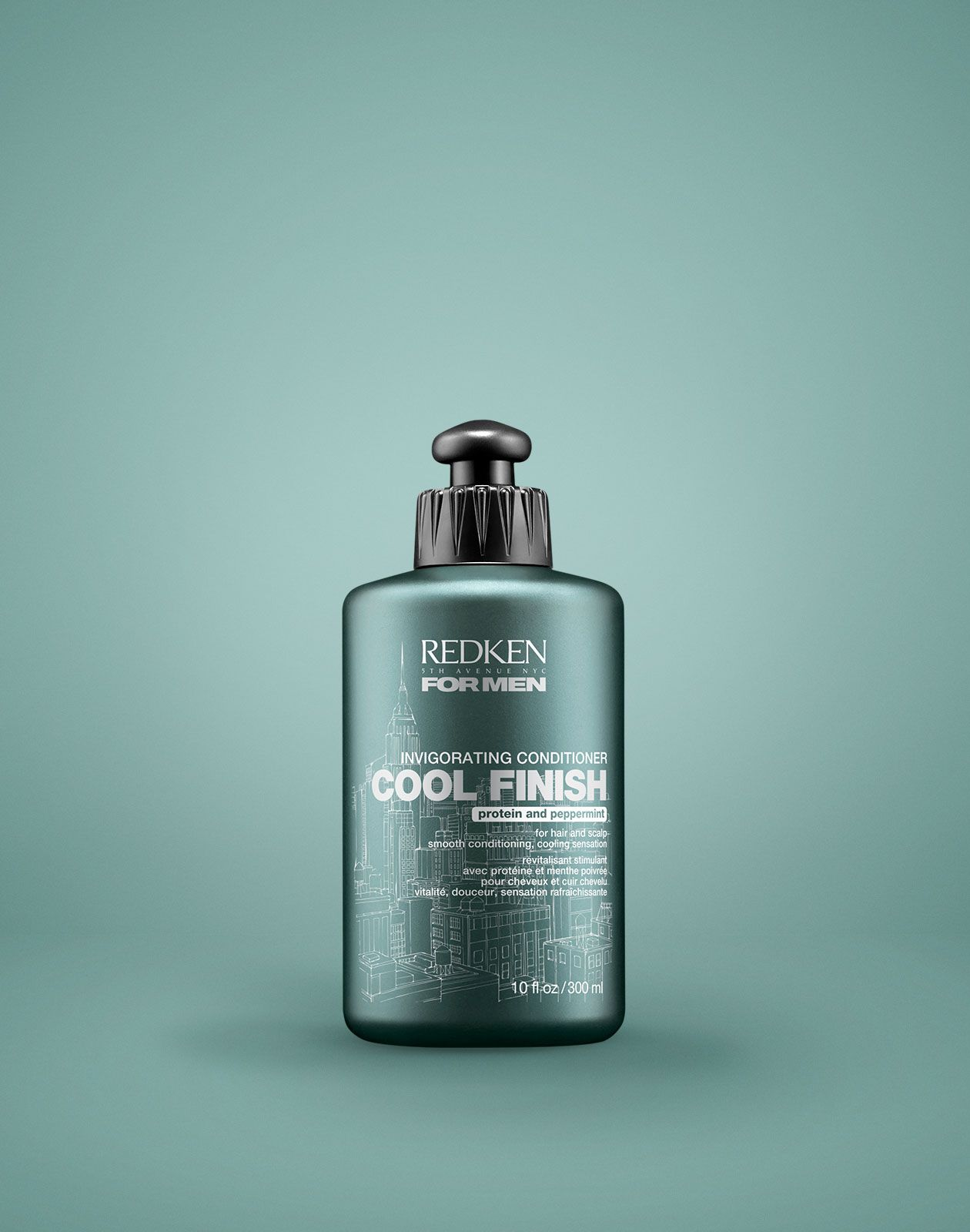 Redken for men cool finish invigorating mint conditioner helps hair