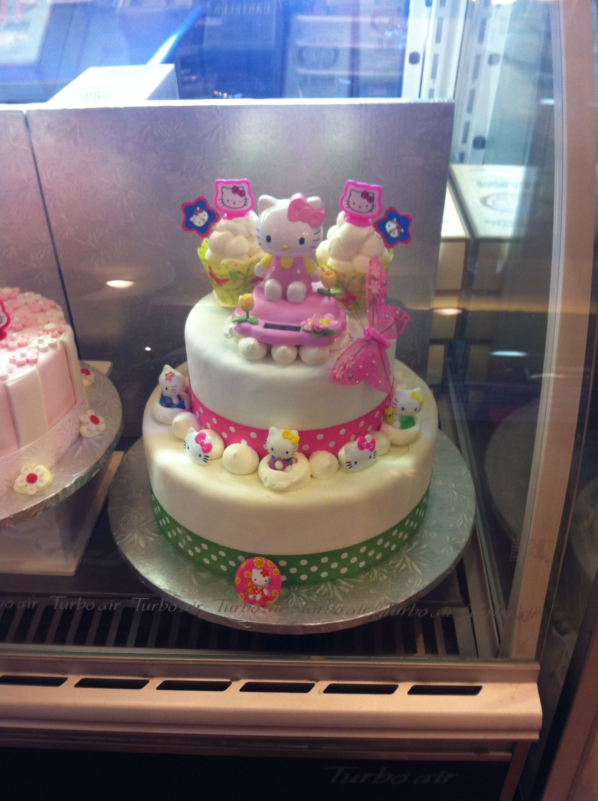 Hello Kitty Cake H Mart