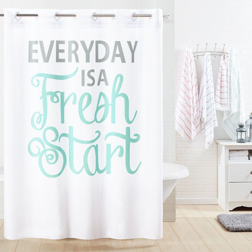 Hookless Everyday Shower Curtain Liner Hookless Shower Curtain