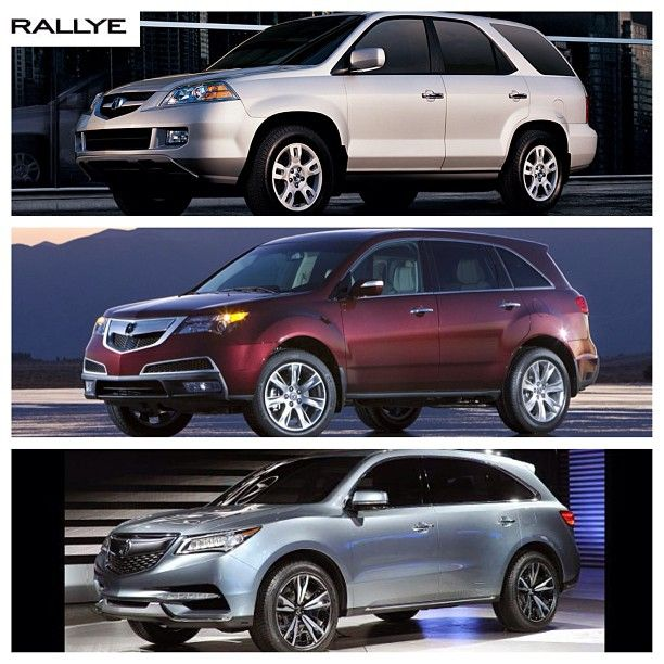 MDX Through The Years #acura #MDX #acuramdx #jdm