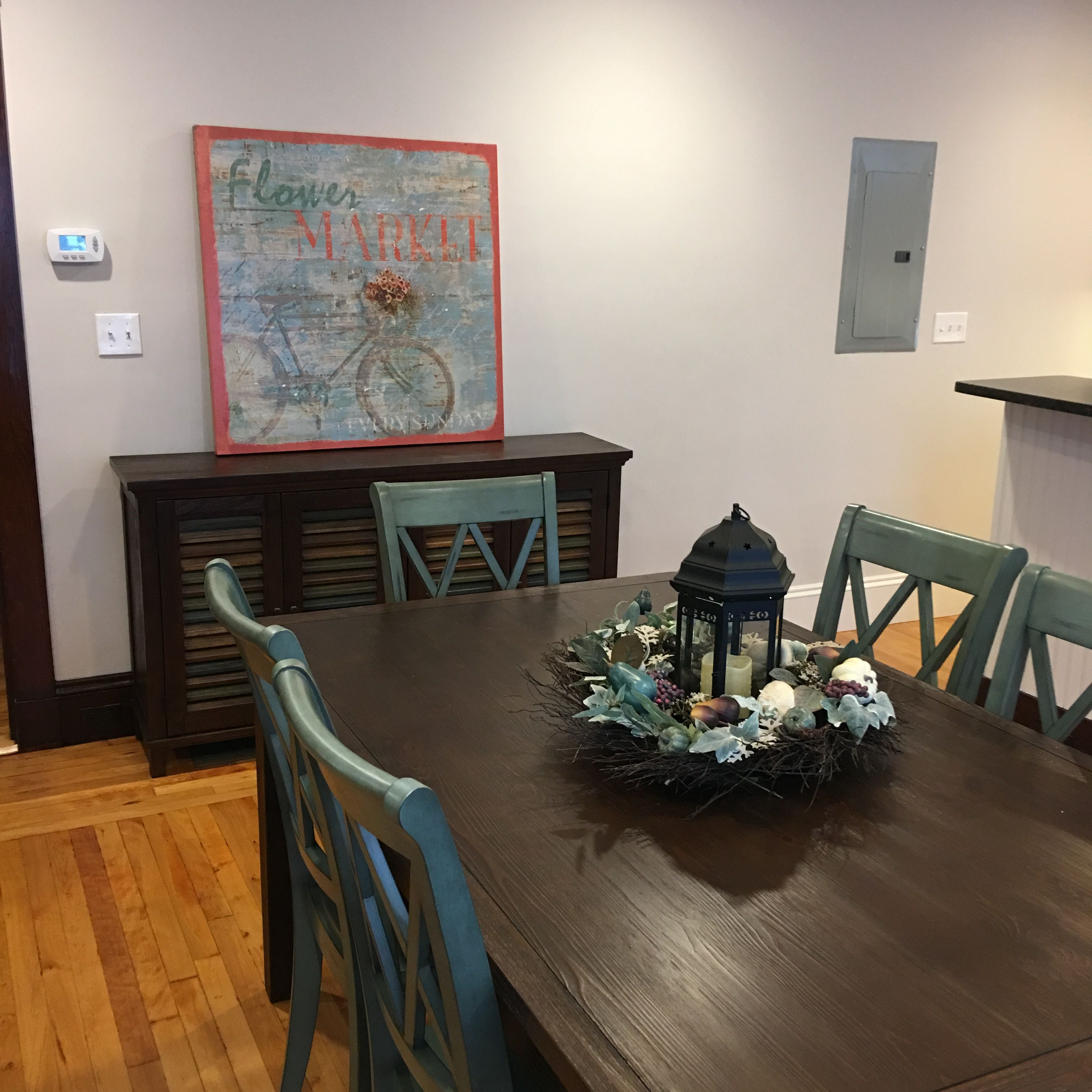 Home Staging Dining Room Table
